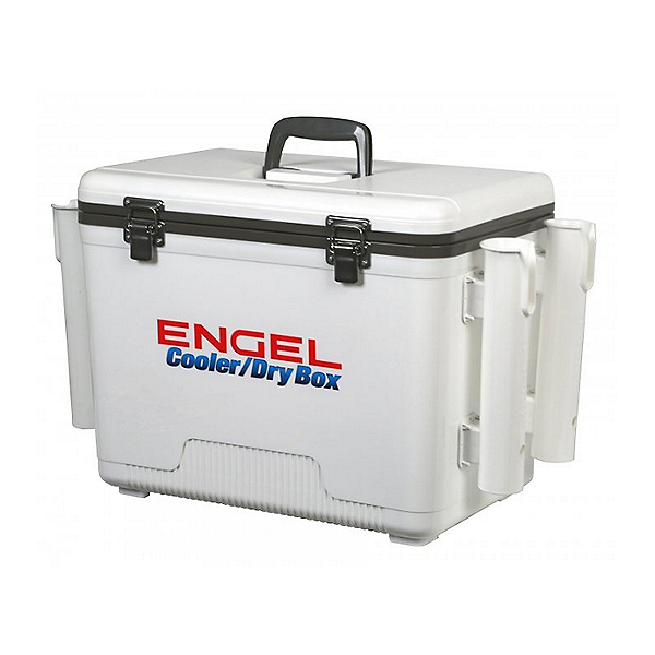 Engel Dry Box Cooler 19 with Rod Holders White - 19, White, 600