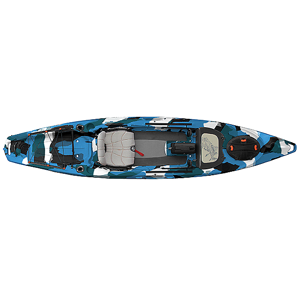 Feelfree Lure 13.5 Kayak Blue Camo, Blue Camo, 600