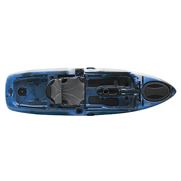 Native Watercraft Slayer 10 Propel Kayak, Blue Lagoon, 600