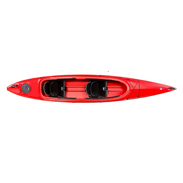 Wilderness Systems Pamlico 145T Tandem Kayak 2021 Red, Red, 600