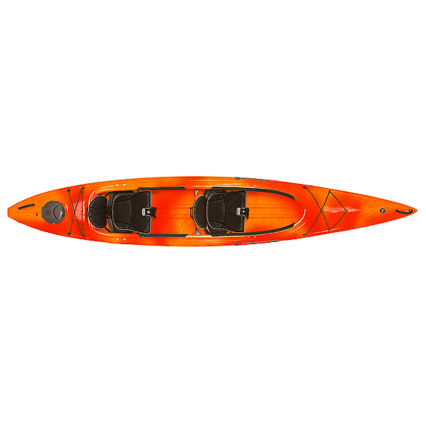 Wilderness Systems Pamlico 145T Tandem Kayak, Mango, 600