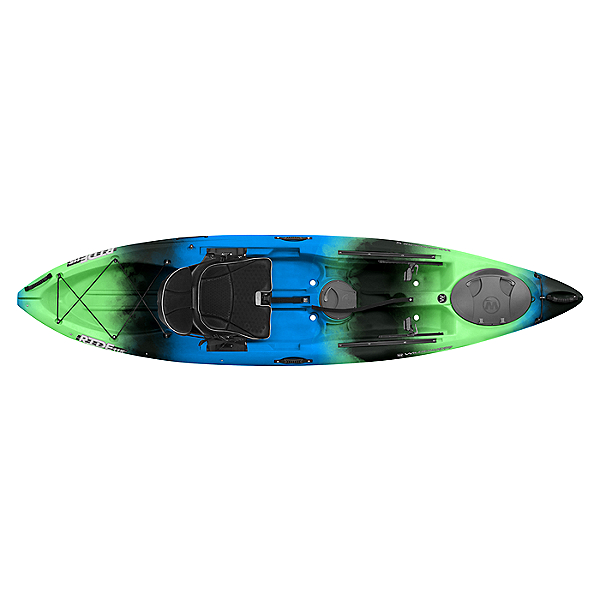 Wilderness Systems Ride 115 Kayak - Low Seat Galaxy Blue, Galaxy Blue, 600