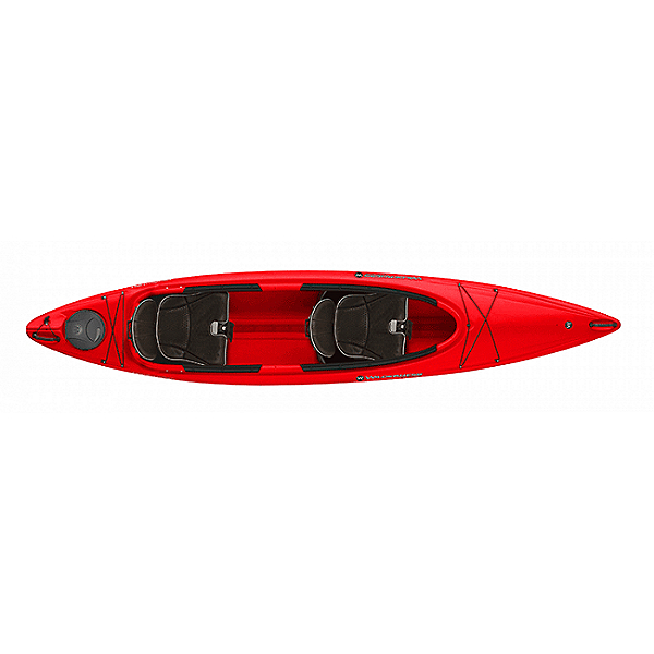 Wilderness Systems Pamlico 135T Tandem Kayak Red, Red, 600