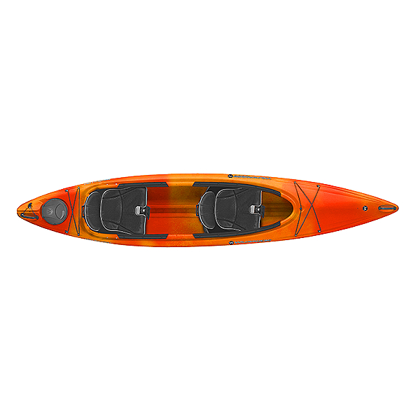Wilderness Systems Pamlico 135T Tandem Kayak, Mango, 600