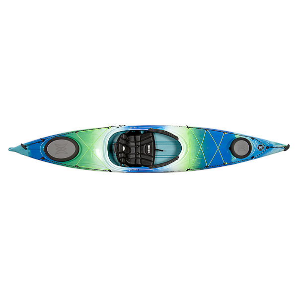 Perception Carolina 12 Touring Kayak, Deja Vu Blue, 600