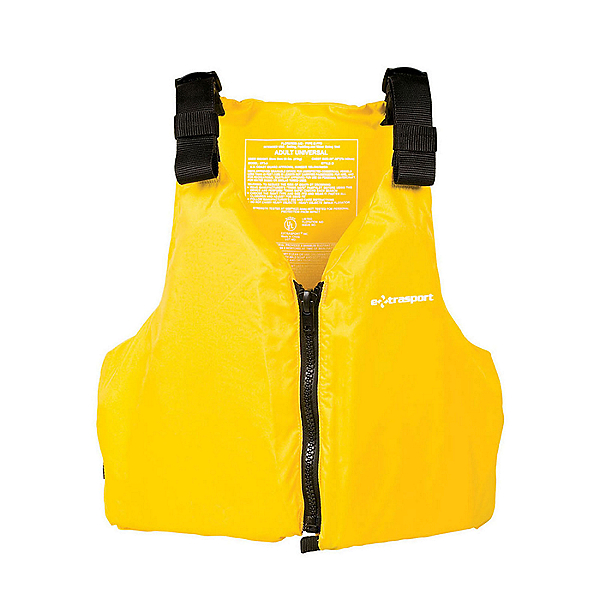 Extrasport Fleet Universal Life Jacket - PFD, Yellow, 600