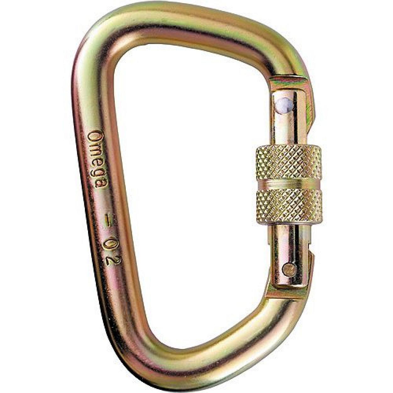 Image of 1/2in Screw-Lok D Steel Gold