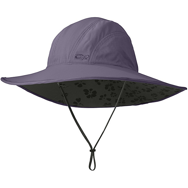 Outdoor Research Oasis Sombrero Sun Hat for Women, Fig, 600