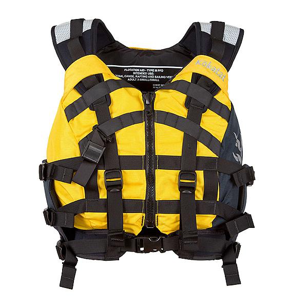 Kokatat Poseidon Touring Life Jacket - PFD Yellow - XL/2XL, Yellow, 600