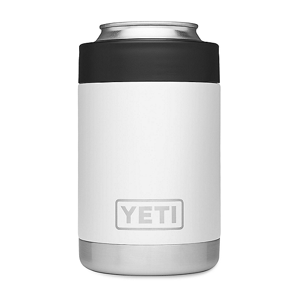 Yeti Rambler Colster Insulated Koozie - Version 1 White, White, 600