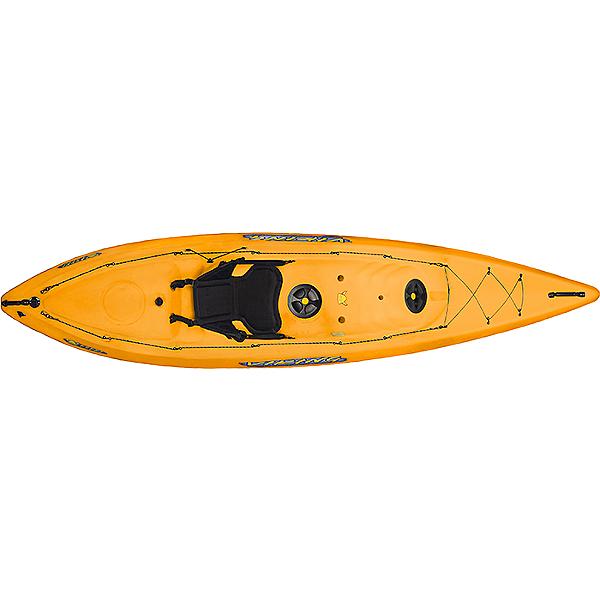 Viking Kayaks Espri Rec Kayak - Discontinued, Yellow/Orange, 600
