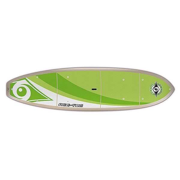 Bic SUP ACE-TEC Cross Adventure Stand Up Paddleboard 11-0, Green, 600