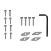 YakGear Universal Track Nut Kit - 4 pack, , medium
