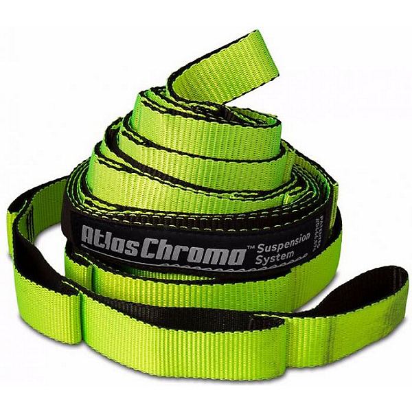 ENO Atlas Chroma Hammock Suspension System, Neon/Black, 600