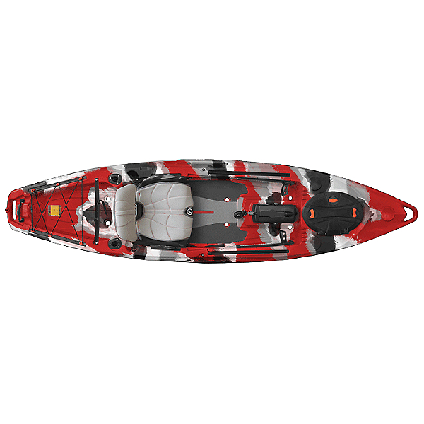 Feelfree Lure 11.5 Kayak Red Camo, Red Camo, 600