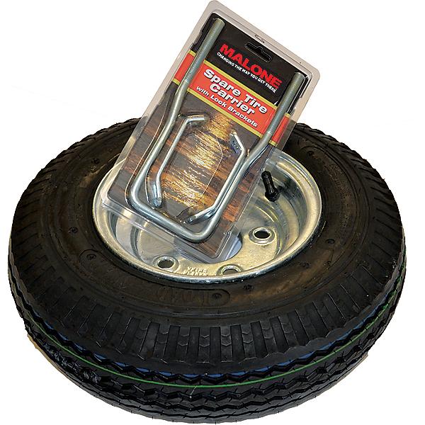 Malone Spare Tire for XtraLight Trailer - 8 Inch Galvanized, , 600