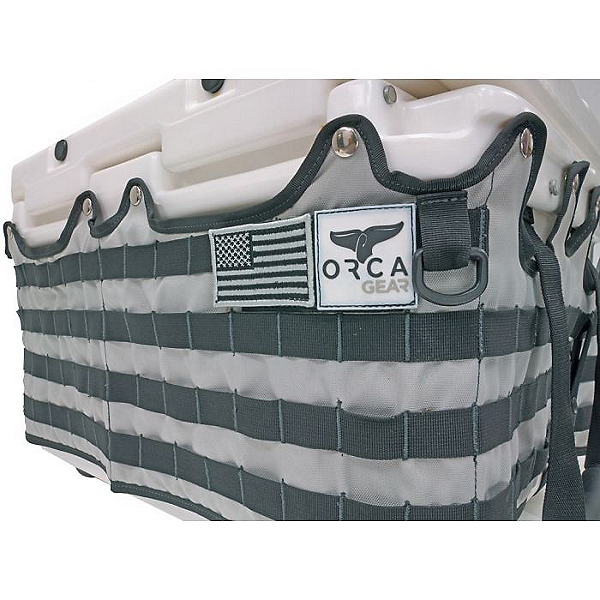 ORCA Gear 26 Quart Coller Molle Tac Wrap Wrap, Grey/Black, 600