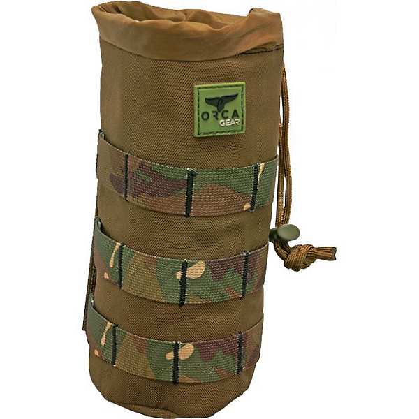 ORCA Gear Molle Insulated Drink Holder, CRP Camo, 600