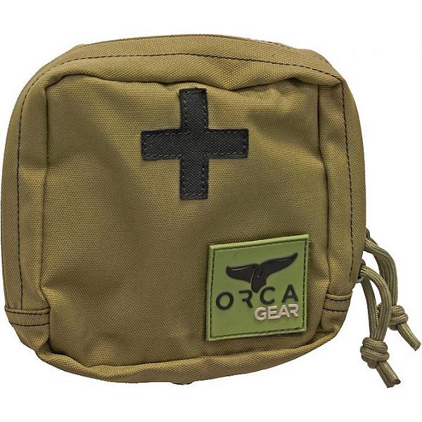 ORCA Gear Molle First Aid Pouch Desert Green, Desert Green, 600