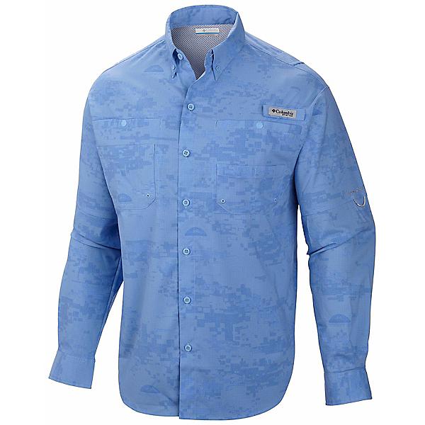 Columbia PFG Solar Camo Long Sleeve Woven Shirt - Closeout, , 600