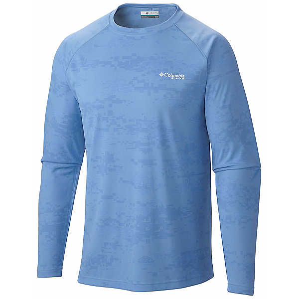 Columbia PFG Solar Camo Long Sleeve Knit Shirt - Closeout, , 600