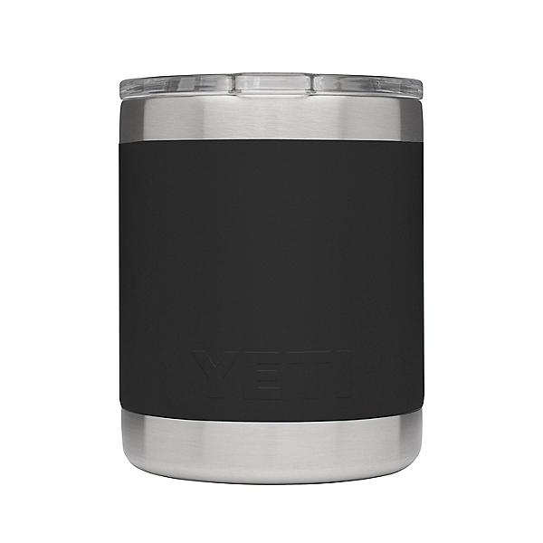 Yeti Rambler 10 oz. Lowball w/ Standard Lid, Black, 600
