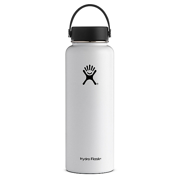 Hydro Flask 40 oz. Wide Mouth Bottle, White, 600