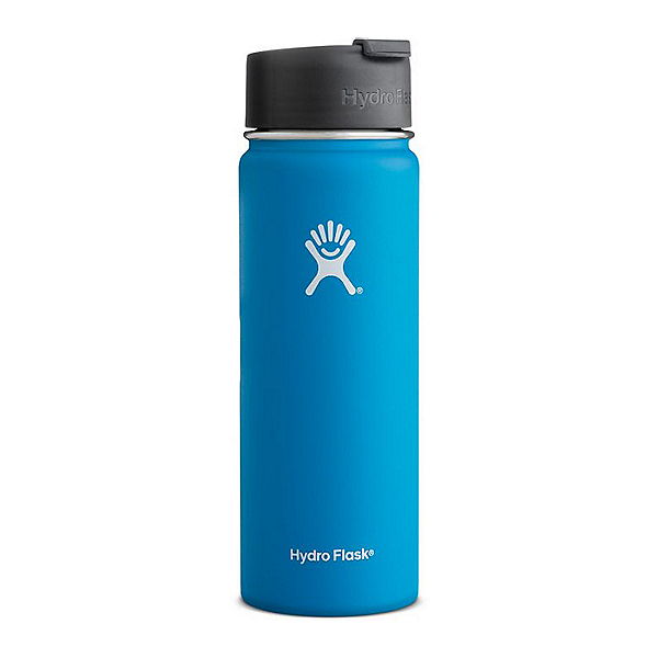 Hydro Flask 20 oz. Wide Mouth Bottle with Flip Lid Pacific - 20 oz, Pacific, 600