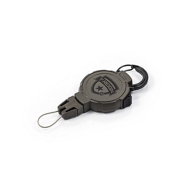 T-Reign Retractable Hunting Gear Tether with Caribiner - 14 oz. Force, , 600