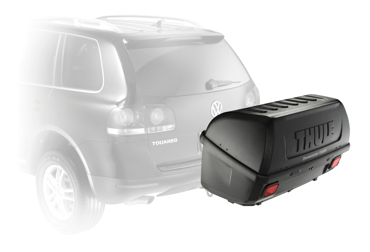 Thule Transporter Combi 665 Rear Mounted Hitch Cargo Box Austinkayak
