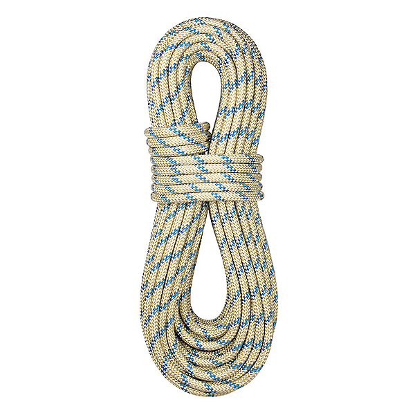 BlueWater 8 mm BlueWater  II Plus Static Rope, Gold, 600