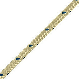 BlueWater 9.5 mm BlueWater II+ Static Rope, Gold, 256