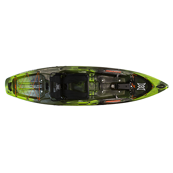 Perception Pescador Pro 10.0 Kayak, Moss Camo, 600
