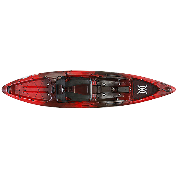 Perception Pescador Pro 12.0 Kayak Red Tiger Camo, Red Tiger Camo, 600