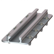 YakAttack Gear Trac GTTL175 8 Inch Top Loading Aluminum Mounting Track, , medium