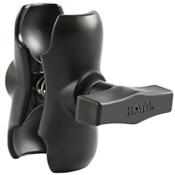 RAM-201U-B Short Double Socket Arm for 1.5 2021, , medium