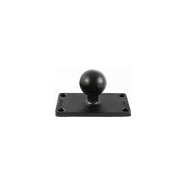 "RAM 2"" X 4"" Rectangle Base with 1.5"" Ball for Helix 7, , 600"