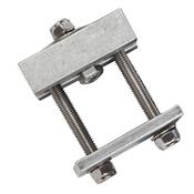 Malone Unibar Large Cradle Adapter Set for Hobie Cradles MPG5576-6, , medium