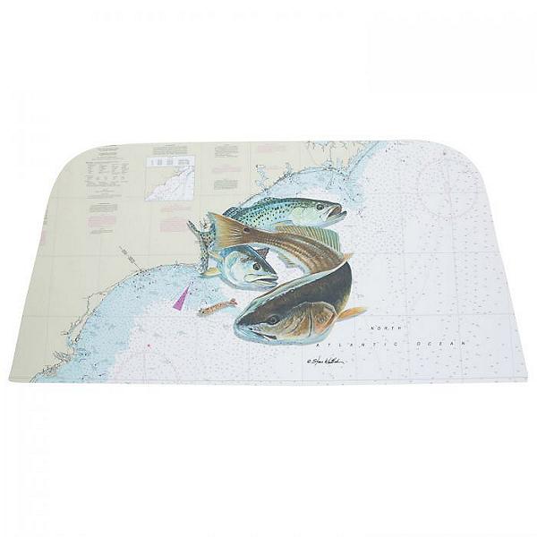 Tempress Yeti Tundra 35 Artist Series Cushion and Wrap - Whitlock, Inshore NC, 600
