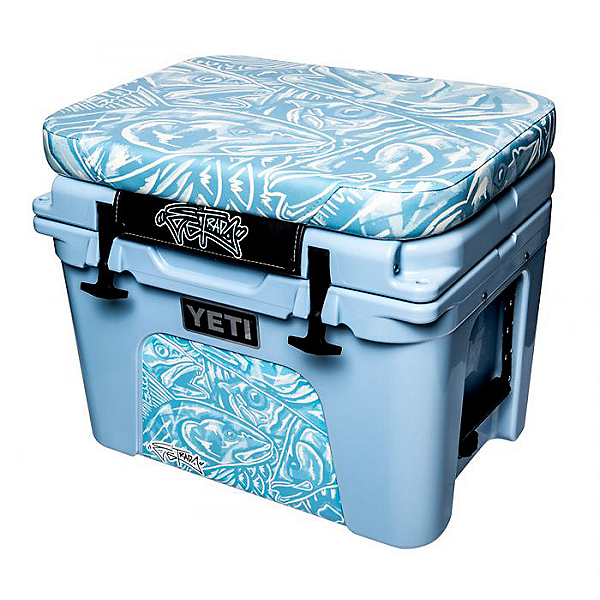 Tempress Yeti Tundra 45 Artist Series Cushion and Wrap - Estrada, Estrada Flats Camo Blue, 600