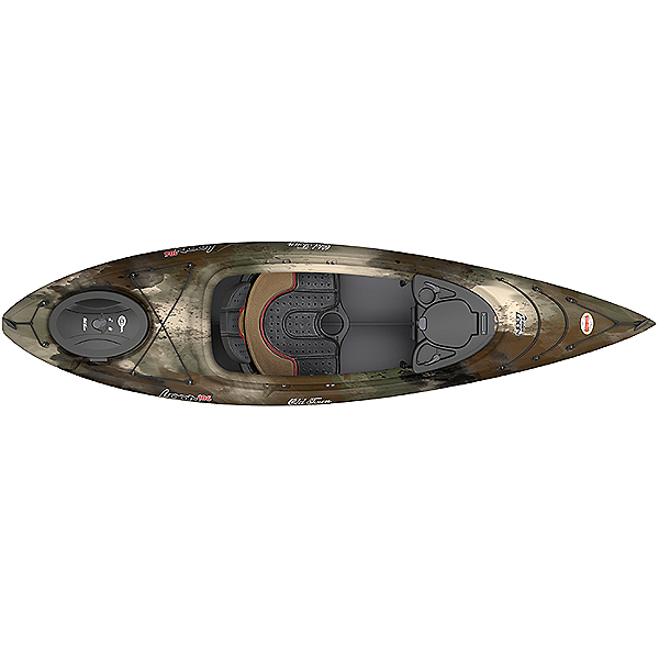Old Town Loon 106 Angler Kayak, Brown Camo, 600