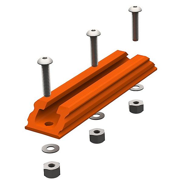 YakAttack Gear Trac GTSL90 4 Inch Plastic Mounting Track - Orange 2021, , 600