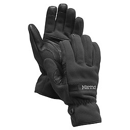 Marmot Windstopper Gloves - Men's, Black, 256
