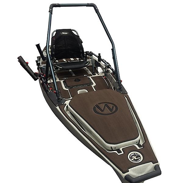 MarineMat Pro Angler 14 Elite Deck Mat Kayak Kit, Toffee/Black, 600