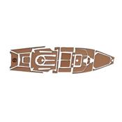 MarineMat Pro Angler 14 Elite Deck Mat Kayak Kit, , medium