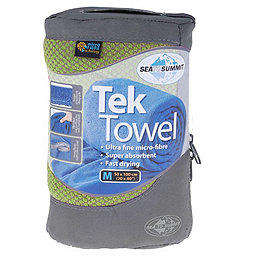Sea To Summit Tek Towel, Kiwi Green, 256