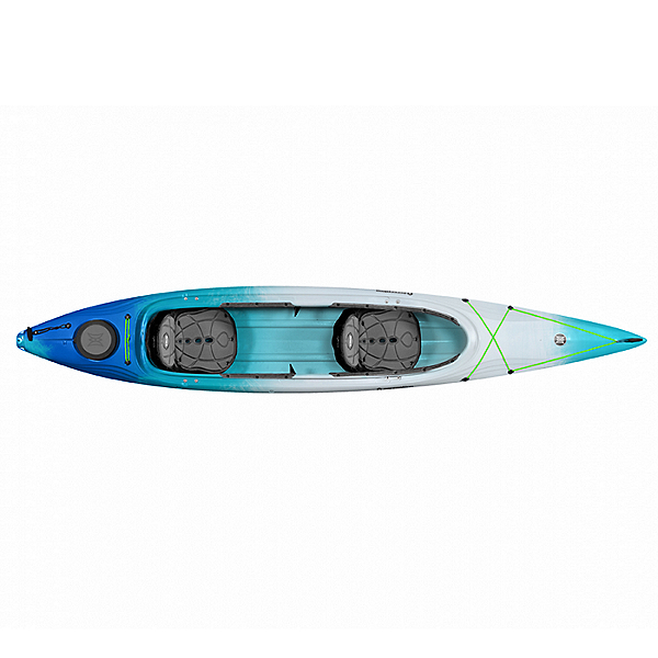 Perception Cove 14.5T Tandem Kayak, Seaspray Blue, 600