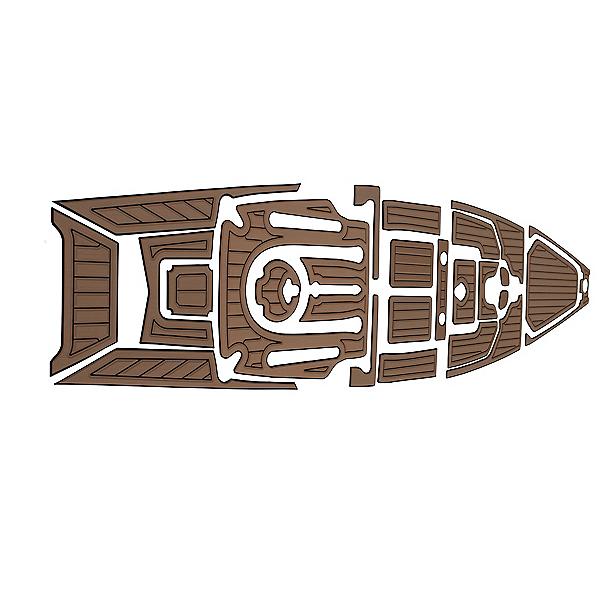 MarineMat Pro Angler 14 Elite Deck Mat Kayak Kit - Teak, , 600