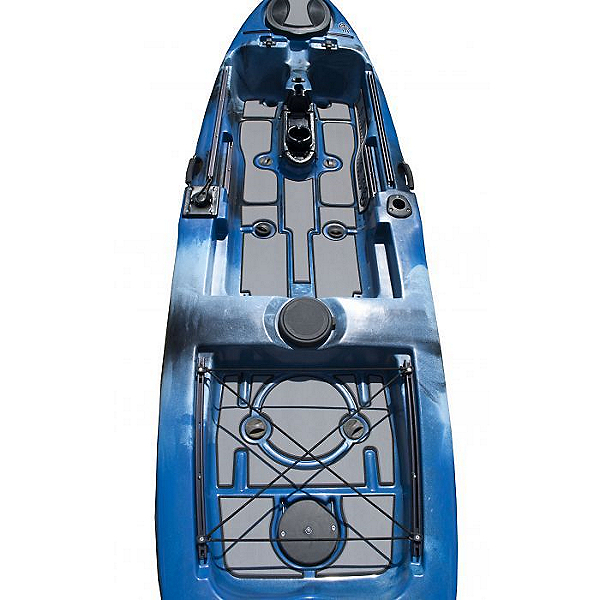 MarineMat Native Watercraft Slayer Propel 10 Elite Deck Mat Kayak Kit, Slate/Black, 600