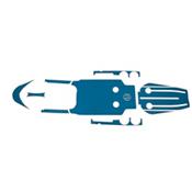 MarineMat FeelFree Lure 10 Elite Deck Mat Kayak Kit, , medium